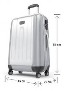 luggage size for plane